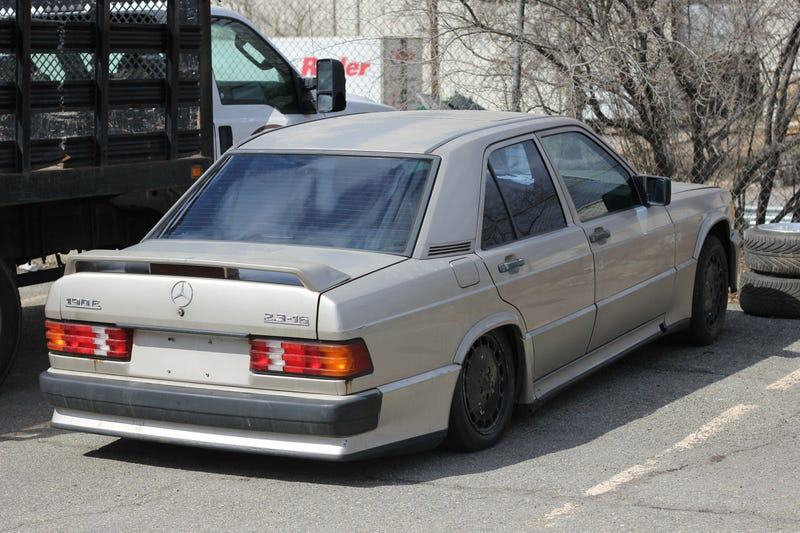 in too deep: 1987 mercedes-benz 190e 2.3-16v cosworth