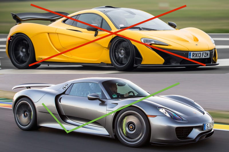 Illustration for article titled Its official,  I like the 918 more than the P1.