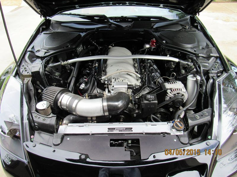 Nissan 350z with V-8 conversion for $15k