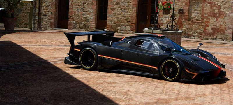 Illustration for article titled Every Single Kind Of Pagani Zonda In The World