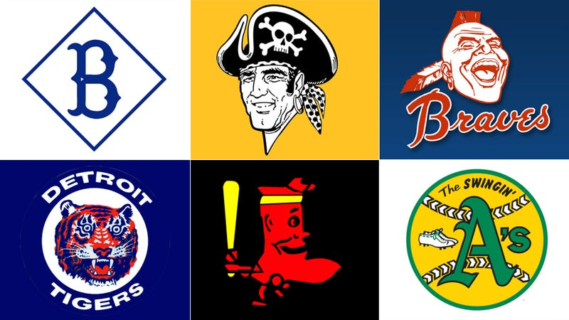 Illustration for article titled The Hidden History of the MLB Playoff Team Logos