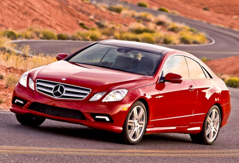 Illustration for article titled 2010 Mercedes E-Class Coupe: First Drive