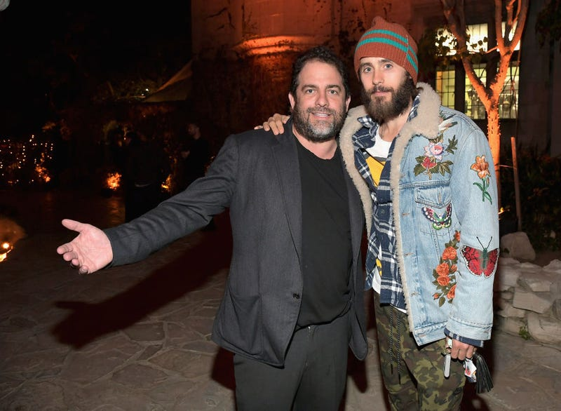 Brett Ratner and Jared Leto at the premiere for Amazon's American Playboy: The Hugh Hefner Story  (Photo: Charley Gallay/Getty Images)