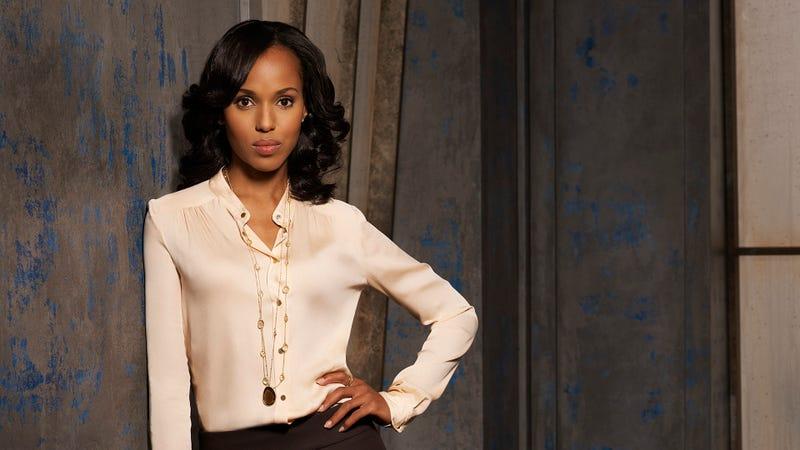 Scandal star Kerry Washington as Olivia Pope
