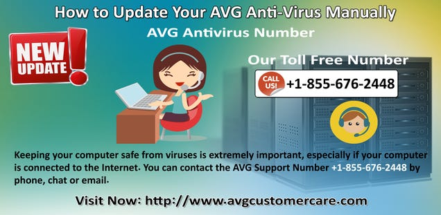 Illustration for article titled AVG Support Phone Number 1-855-676-2448