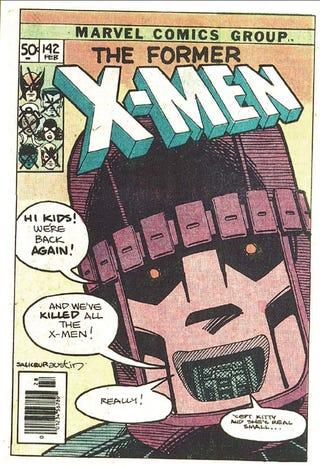 Illustration for article titled X-Men: DOFP Thoughts