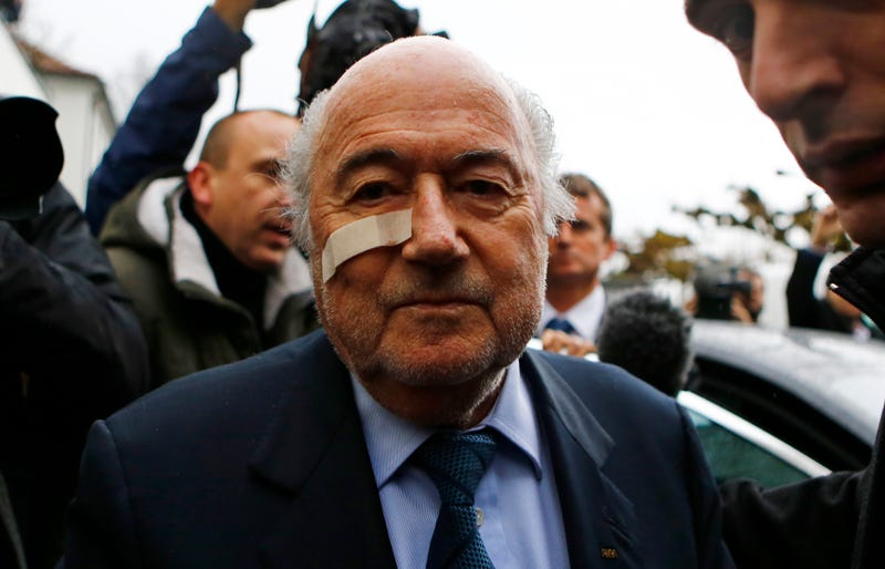 Illustration for article titled Sepp Blatter Banned From Soccer For Eight Years