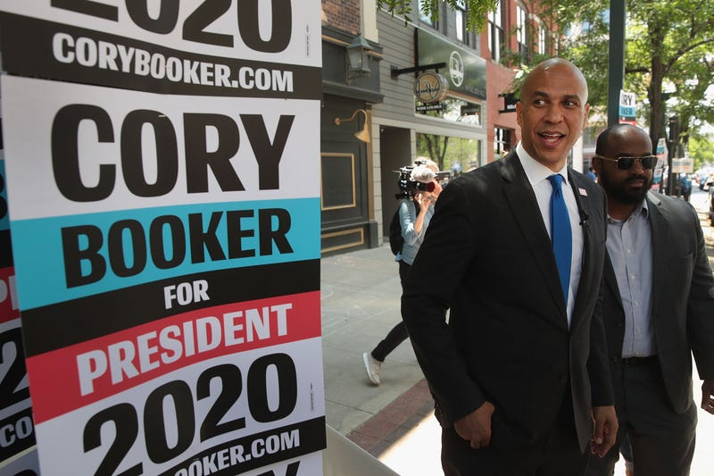 Illustration for article titled Cory Booker Secures 12 Co-Sponsors for Reparations Bill