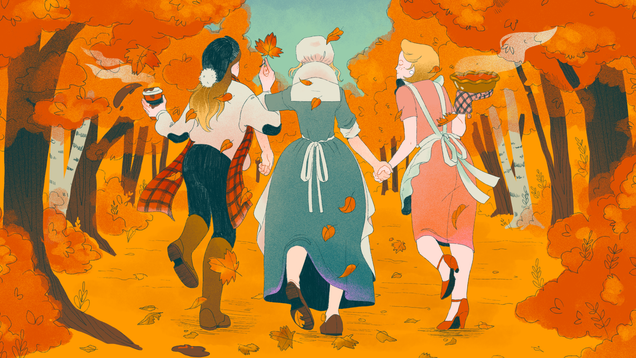 How America Invented the White Woman Who Just Loves Fall