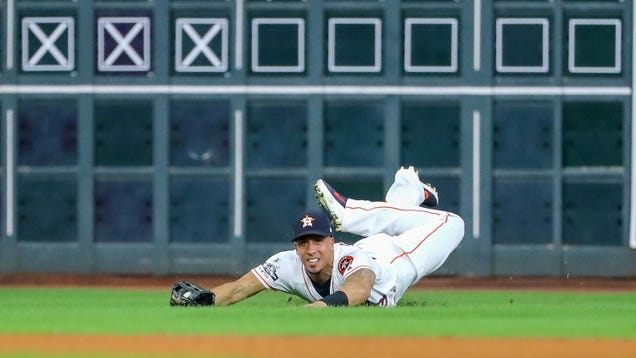 The Astros Defense Grew More Impressive By The Inning