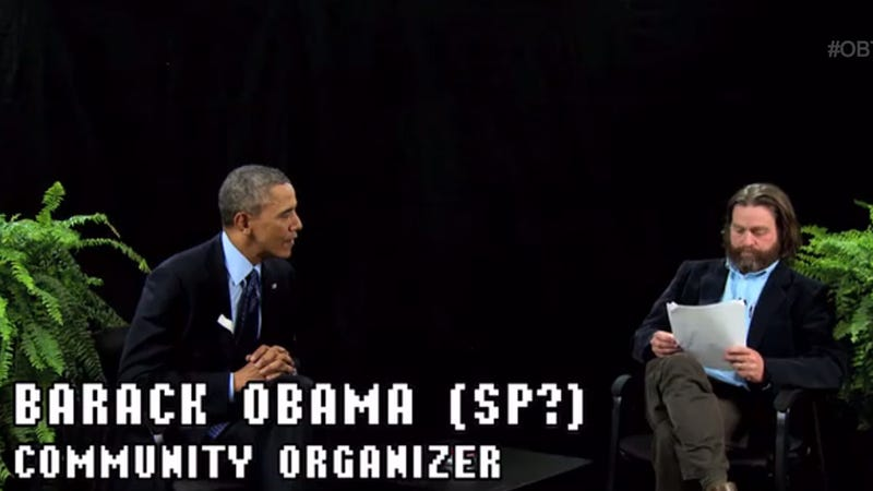 Illustration for article titled President Obama on Between Two Ferns With Zach Galifianakis: So Good