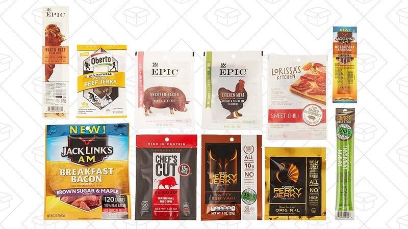 Jerky Sample Box, $10 + $10 jerky credit
