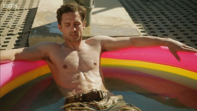 Ben Aldridge in Our Girl