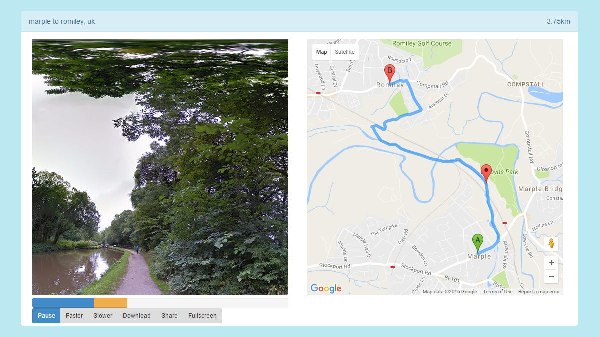 Take a Ride Through Any Place on Earth With This Street View