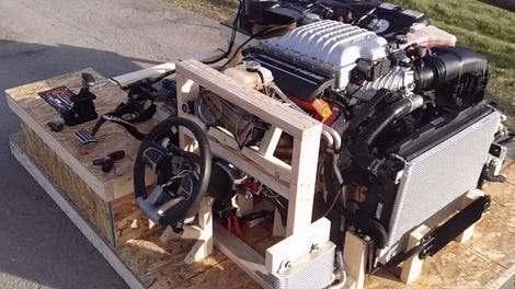 The Mopar 'Hellcrate' Is The 707 HP Engine Swap Kit You Demanded