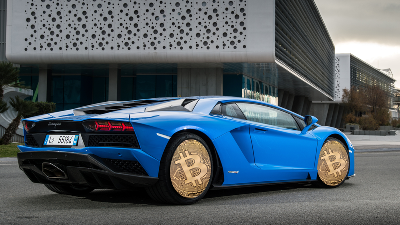 A Lamborghini Aventador S press photo, not one of the ones in Manhattan for the conference.