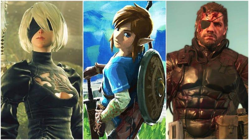 [Images: Square Enix | Nintendo | Konami]