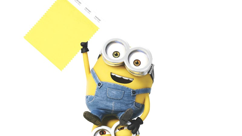 Illustration for article titled Pantone's Newest (And Best) Color: Minion Yellow