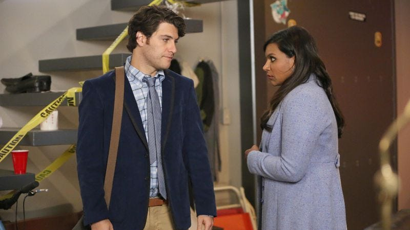 """Illustration for article titled The Mindy Project: """"What About Peter?"""""""