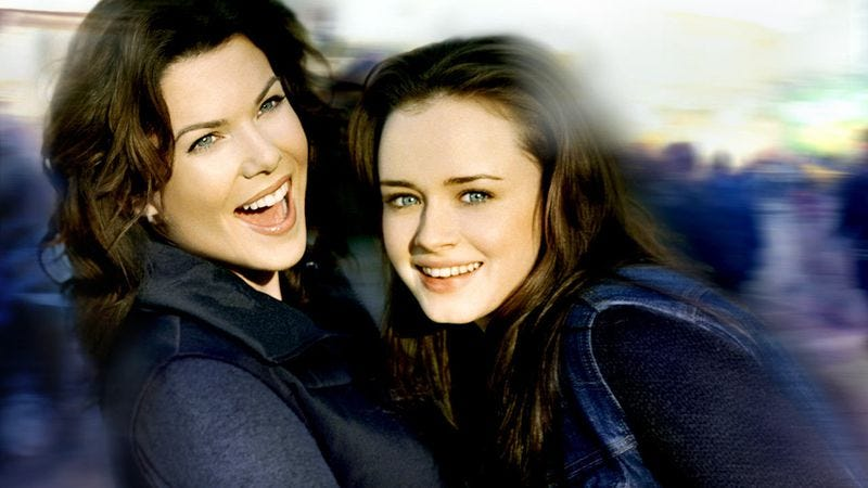 Illustration for article titled The prayers of dozens are answered as Gilmore Girls comes to TV Club Classic