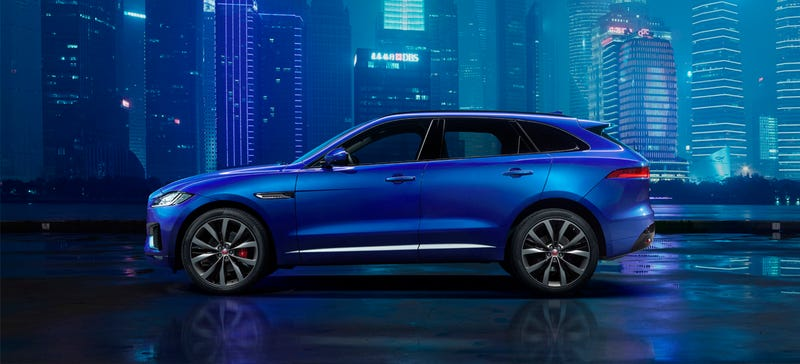 Illustration for article titled Get Used To The Jaguar F-Pace As It's About To Carry The Whole Company