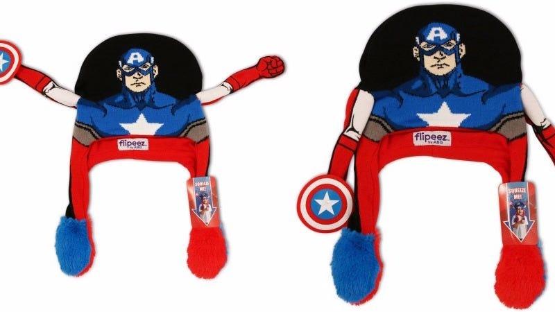 Image: Captain America Flipeez Hat via Walmart