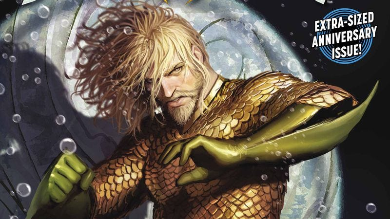 Illustration for article titled A new artist ushers in a new age for Atlantis in this Aquaman #25 exclusive