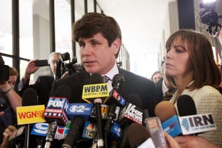 Rod Blagojevich is headed to prison. (Getty)