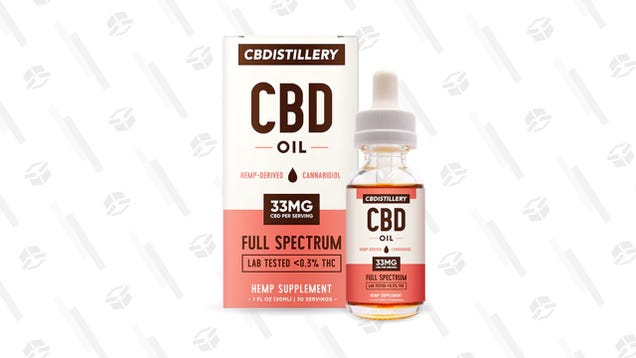 Here s 17% off CBD Oil to Survive the Endtimes [Exclusive]