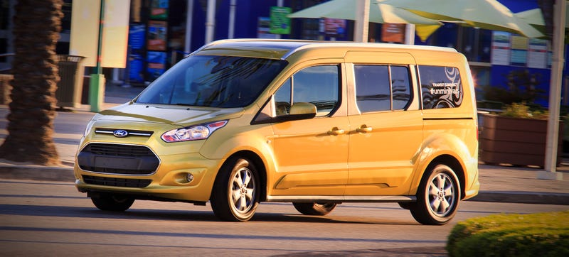 Illustration for article titled Is The Ford Transit Connect Wagon A Wagon Or A Minivan?