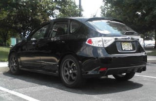 Illustration for article titled Spy Photos: 2008 Subaru WRX in the Wild, Again