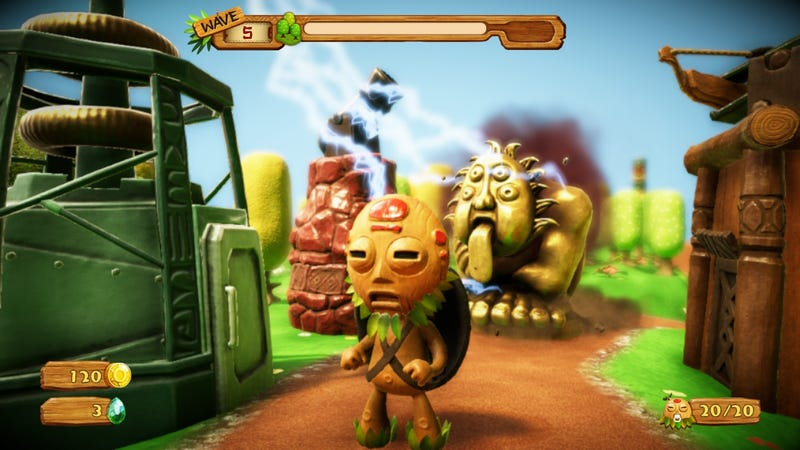 PixelJunk Monsters 2, captured on Switch (also available on PS4)