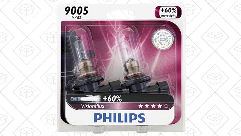 $4 off Philips headlight bulbs