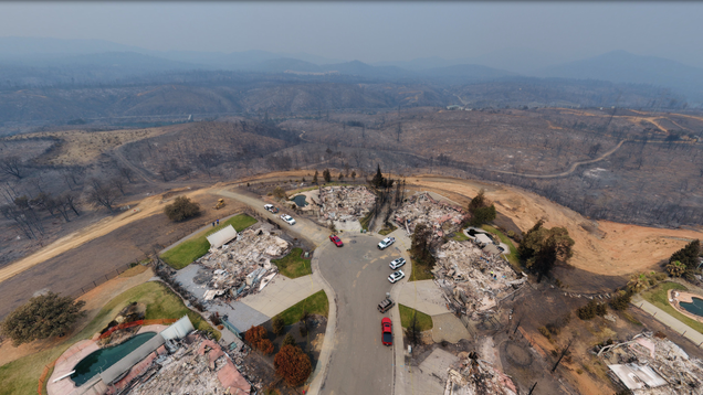 Can We Afford to Keep Rebuilding in the Line of Wildfires?