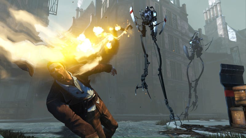 Illustration for article titled You Tell Me What is Happening in this Dishonored Image