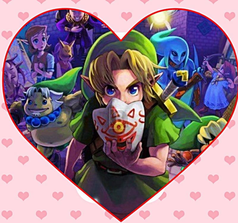 Illustration for article titled Majora's Mask (a Valentine's Day Love Letter)