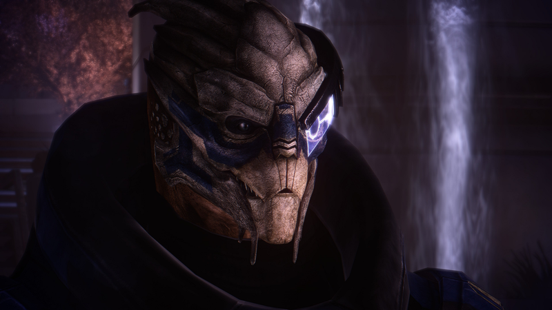 Illustration for article titled Mass Effect Graphics Mod Makes Garrus' Scales Even More Detailed