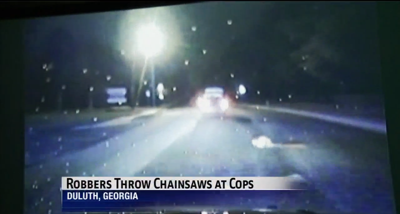 Illustration for article titled These Guys Threw Chainsaws At Police During A Car Chase In Georgia