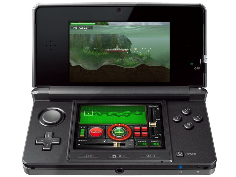 Illustration for article titled Steel Diver Is Nintendo's Secret Recommendation