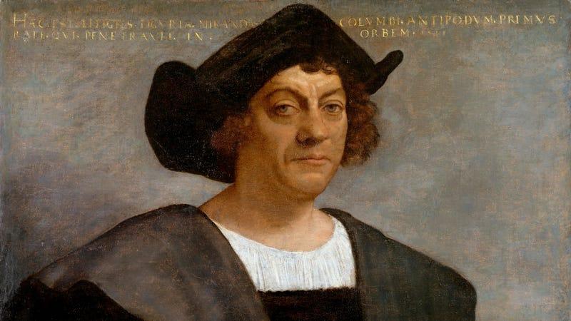 Portrait of Columbus by Sebastiano del Piombo (1519).