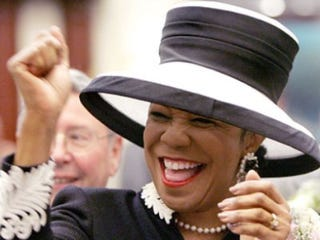 Illustration for article titled Hats Off for New Florida Lawmaker Frederica Wilson
