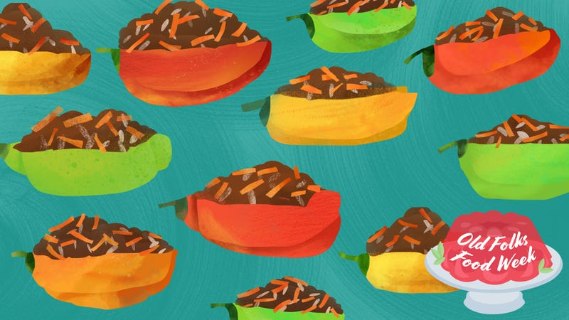 "Illustration for article titled Gwen's ""More Stuff"" Stuffed Peppers will win over young and old"