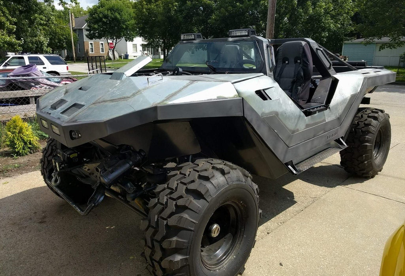 Halo Fan Loves The Warthog So Much He Built His Own