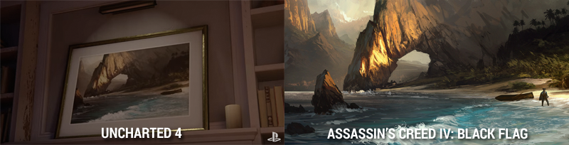 Illustration for article titled Ubisoft Devs Call Out Uncharted 4 Trailer For Taking Assassin's Creed Art [UPDATE]