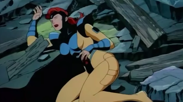 We Are Exhausted, We Are the  90s X-Men Cartoon s Jean Grey