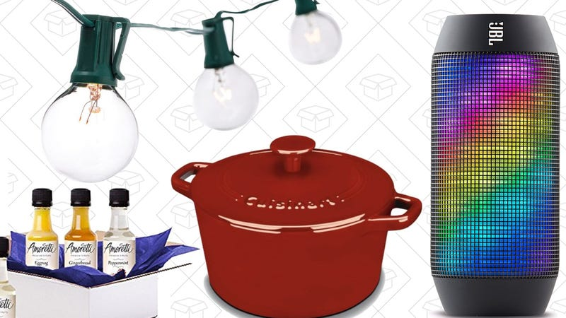 Illustration for article titled Saturday's Best Deals: Cast Iron Cookware, Amoretti Syrup, Amazon Echo