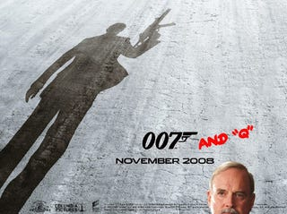 "Illustration for article titled Question of the Day: Do You Miss the ""Q"" Character in the New James Bond Films?"