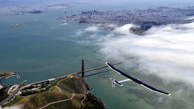 Illustration for article titled Big Picture covers Solar Impulse flight across the USA