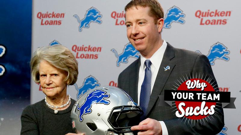 dafa5a06 Why Your Team Sucks 2016: Detroit Lions