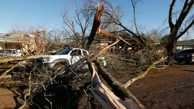 Huge Storms Sweep the South, Resulting in At Least Three Fatalities
